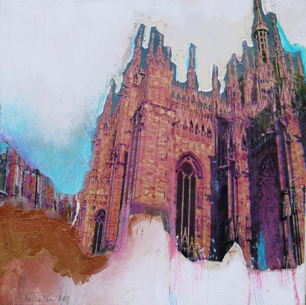 Mailand Dom IIMixed Media40 x 40