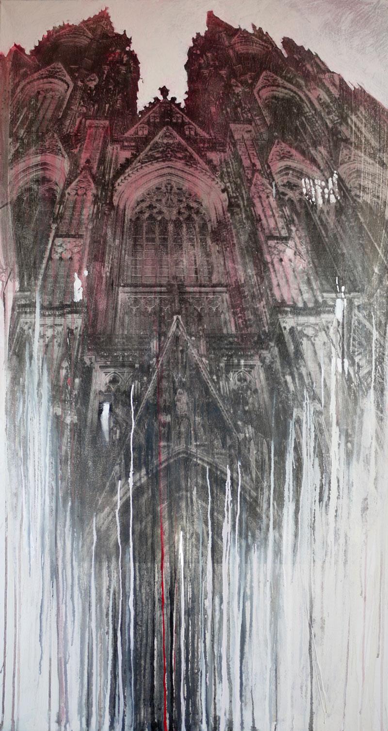 Dom Colonia RosaSilbergelatineabzug, Öl150 x 80
