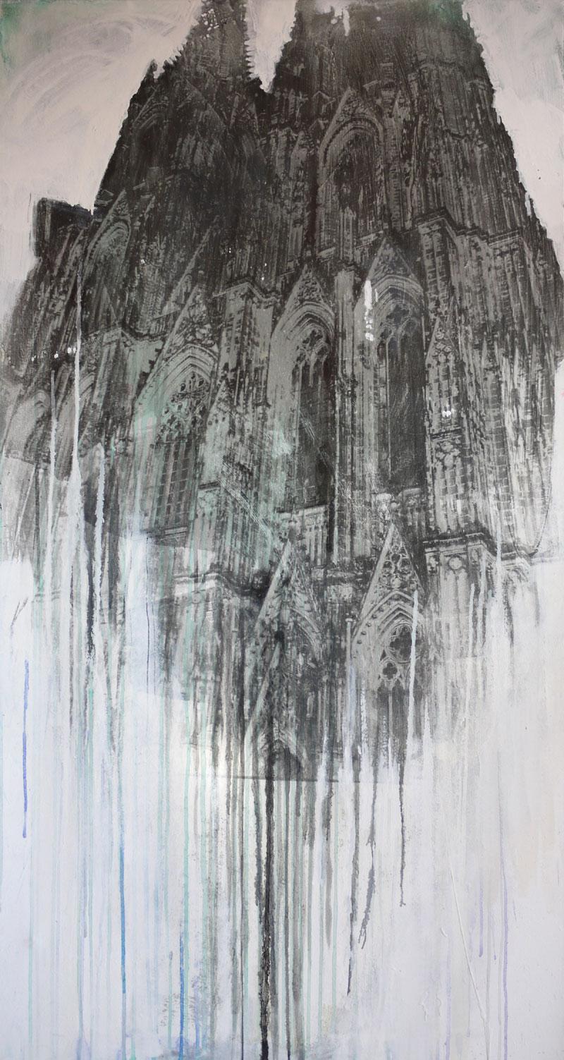 Dom Colonia GrünSilbergelatineabzug, Öl150 x 80