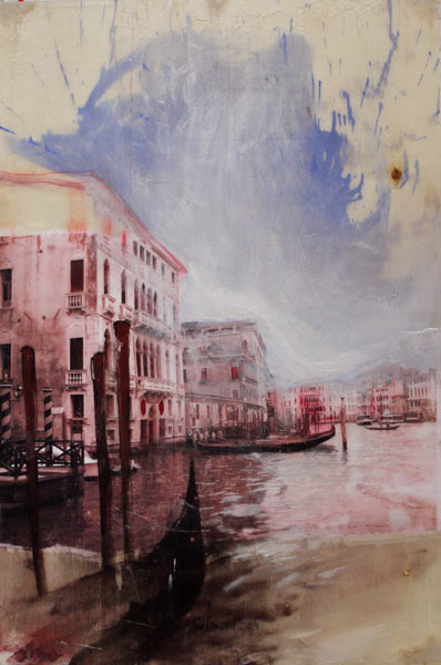 Canale Grande Mixed Media80 x 53